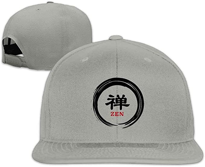 Gorra de Camionero Enso Zen Circle Unisex Causal Fitted Flat Bill ...