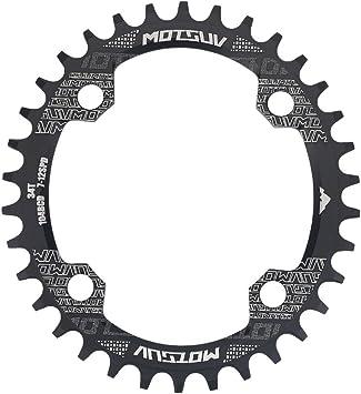 Plato de Bicicleta, Platos Ovales de Una Sola Velocidad 32T / 34T ...