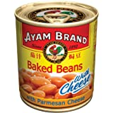Ayam Brand Baked Beans in Tomato Sauce with Cheese, 230g