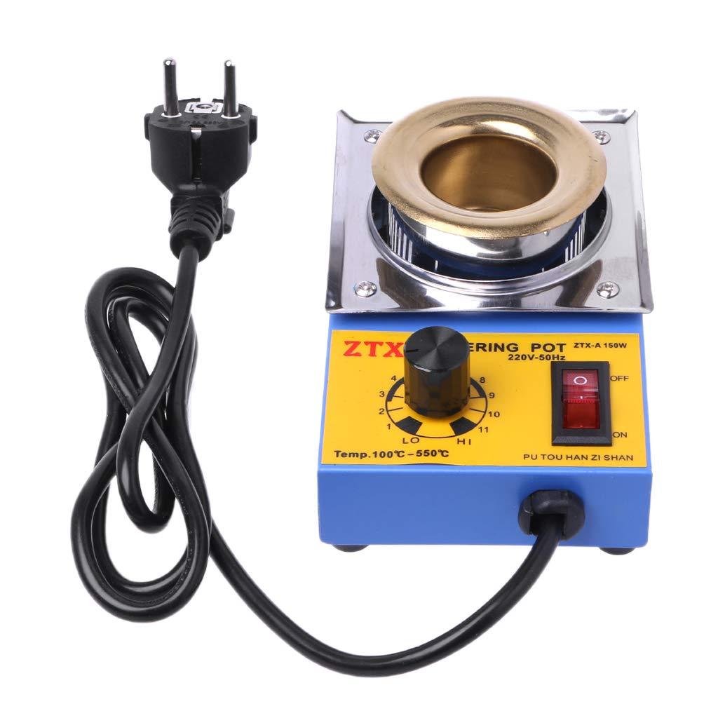 Dabixx Four à tôle à température réglable sans Plomb 150W avec fiche UE