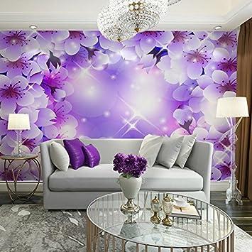Home Decor Wand papier Wandbilder 3d Blumen wallpaper Wandbild für ...