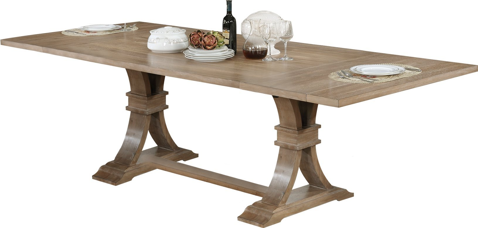 Best Quality Furniture D377T Rustic Dining Table by Best Quality