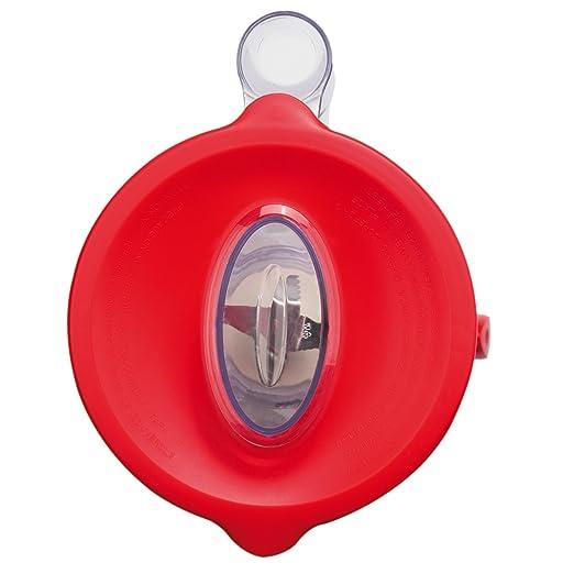 Ufesa BS4701 Batidora Personal, 450 W, 1.75 litros, Plástico, 2 Velocidades, Blanco y Rojo: Amazon.es: Hogar