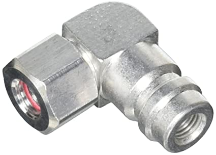 FJC FJC2633 Service Port Adapter (90 Degree High Side R-134a)