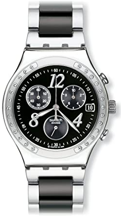 65afa1bcb8e Amazon.com  Swatch Dreamnight Chronograph Unisex Watch YCS485GC ...