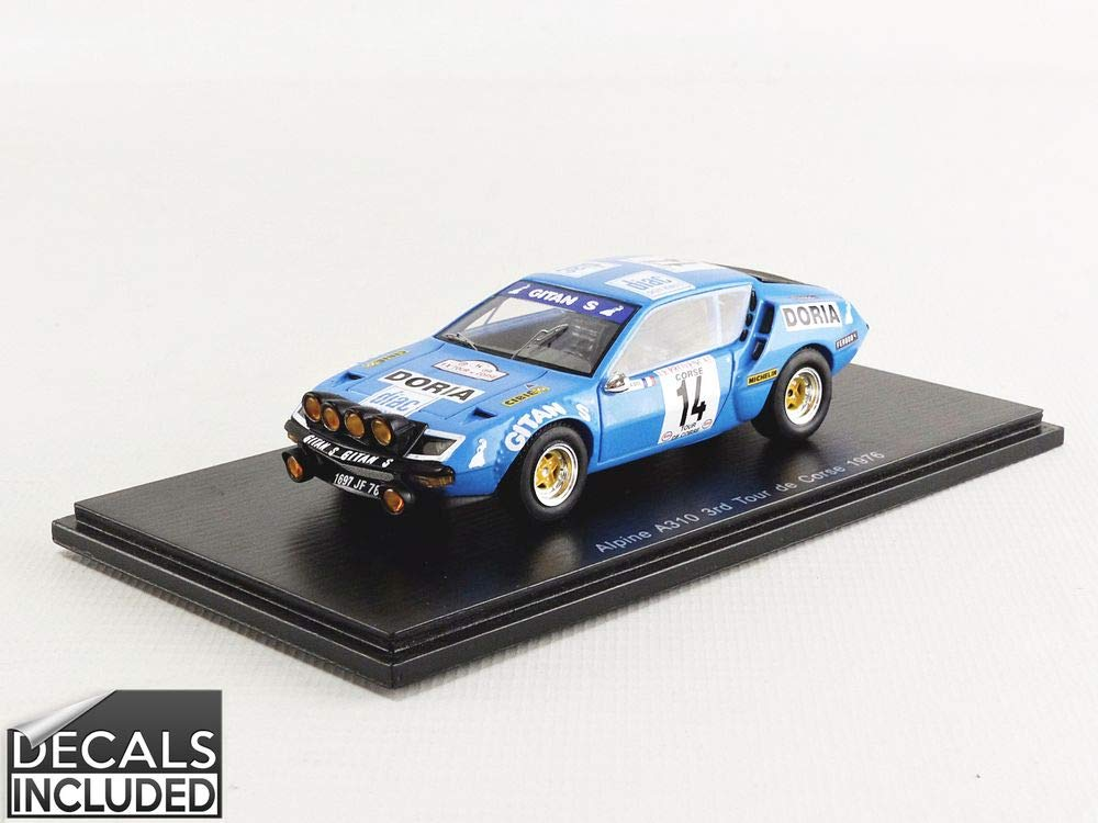 Spark S5479 Collectible Miniature Car - Blue