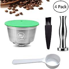 Soportes para cápsulas y bolsitas de café
