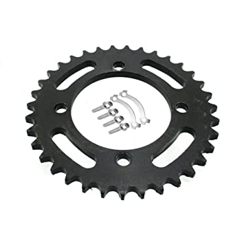Amazon Com Tc Motor 428 76mm 35t Rear Chain Sprocket For Chinese