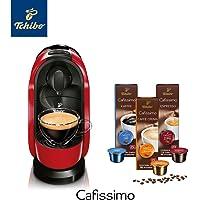 Tchibo Cafissimo Pure Kapselmaschine (für Kaffee, Espresso, Caffé Crema und Tee) (inkl. 30 Kapseln)