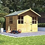 BillyOh 6x5 Lollipop Junior Children Wooden Playhouse Outdoor Playground - Premium 6ftx5ft