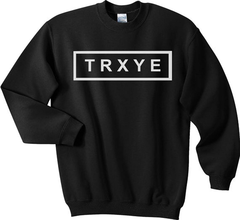 TRXYE Pullover Sweatshirt Crewneck Sweater Jumper - Unisex - Super ...