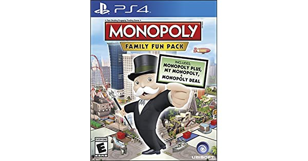 Ubisoft Monopoly Family Fun Pack, PS4 - Juego (PS4, PlayStation 4 ...