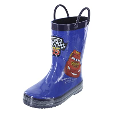 69be93b0959 Amazon.com | Cars Boys' Toddler Cars Rain Boot | Boots