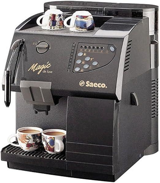 Saeco Magic de Luxe – Cafetera automática Negro: Amazon.es: Hogar