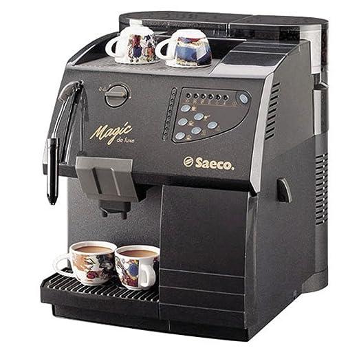 Saeco Magic de Luxe - Cafetera automática Negro: Amazon.es ...