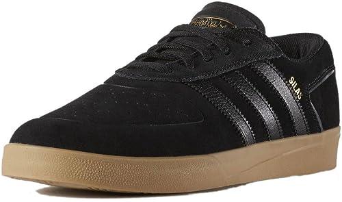 Adidas Silas Vulc skate zapatos negro Black Gum: adv