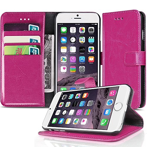 tnp-iphone-6s-plus-wallet-case-hot-pink-slim-synthetic-leather-wallet-pocket-case-flip-cover-stand-w