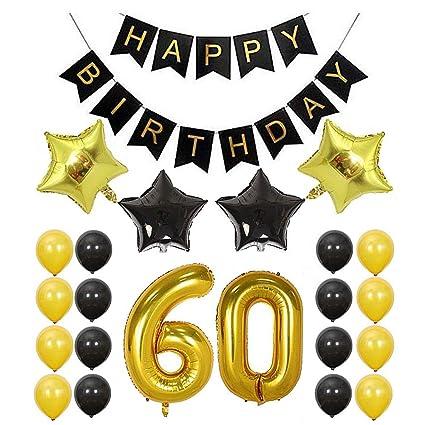 YYNIGHT 18/20 decoración de cumpleaños película de Aluminio ...
