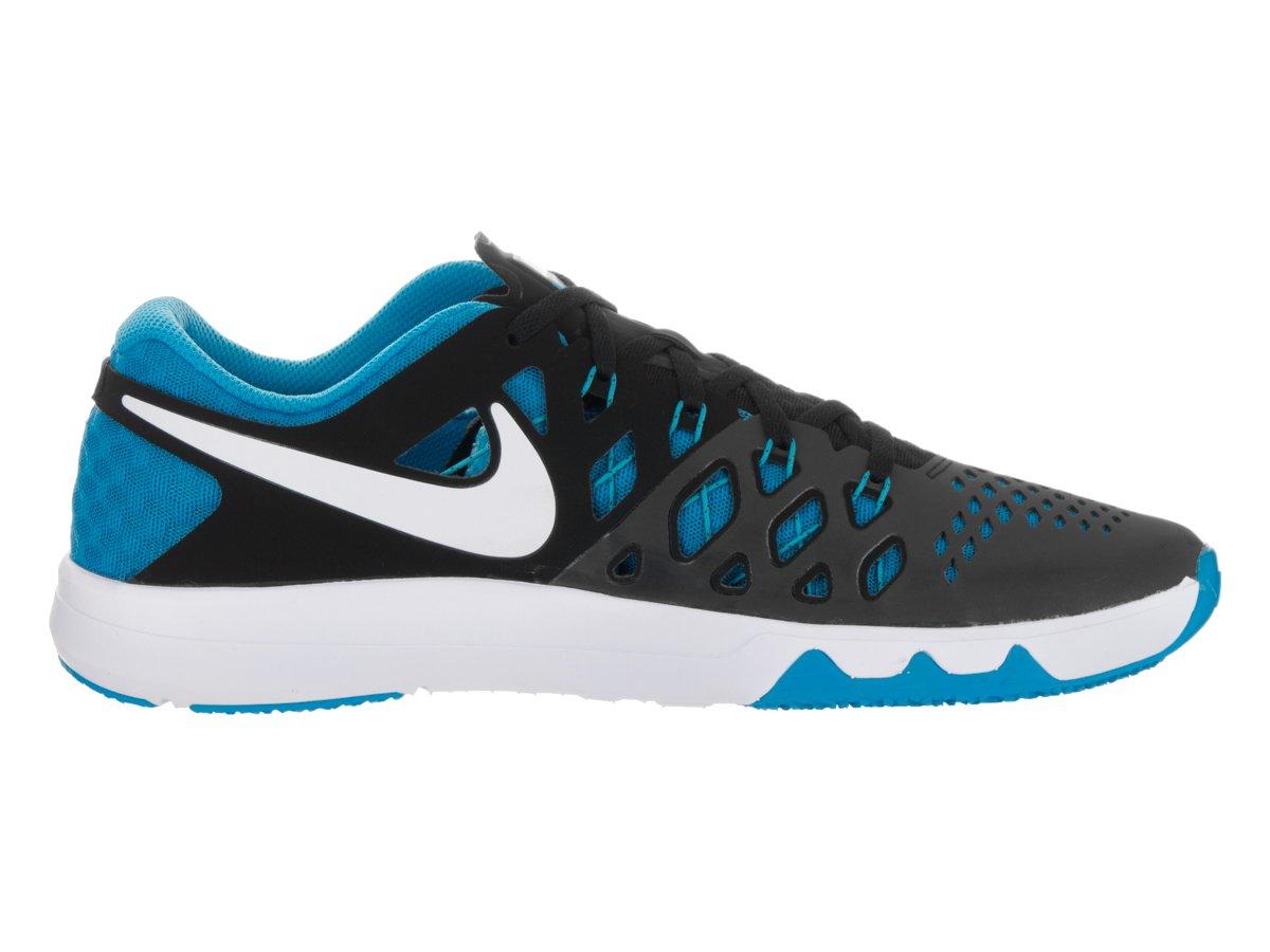 NIKE Men's Train Speed 4 Running Shoe B01EESS60E 11.5 D(M) US|Black/Blue Glow/White