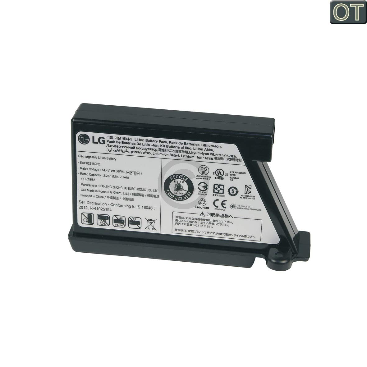 ORIGINAL LG Electronics EAC62218202 Akkublock Lithium Ionen Akku ...