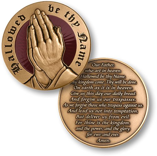 The Lords Prayer Coin ()