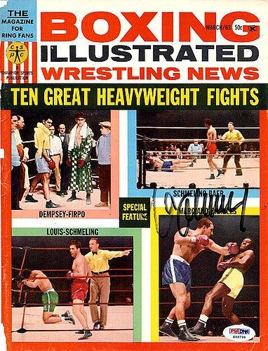 e4e833f48c9 Max Schmeling Signed Magazine Cover - PSA DNA Authentication - Boxing  Memorabilia at Amazon s Sports Collectibles Store