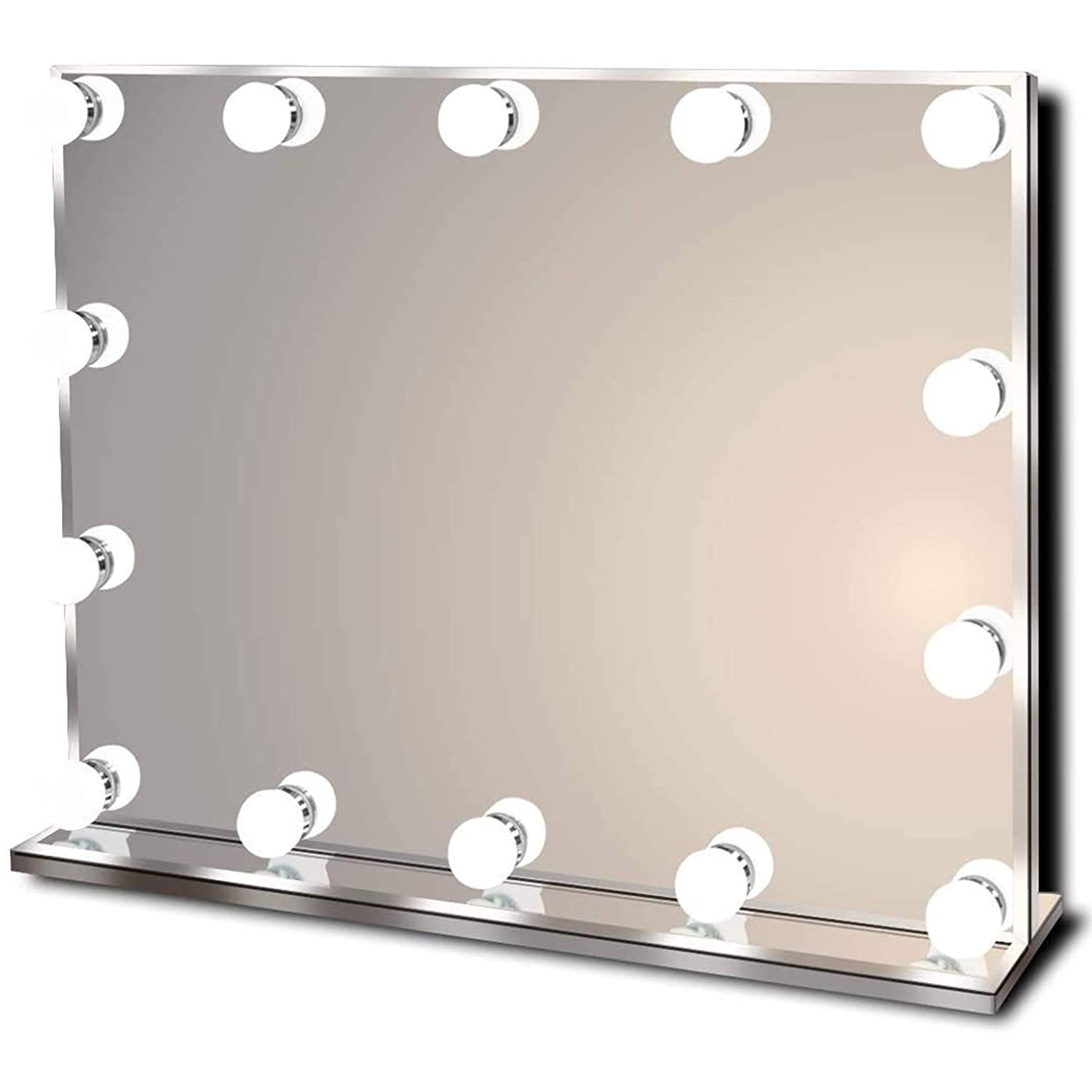 Waneway Hollywood Dimmable Bulbs Vanity Mirror With Lights