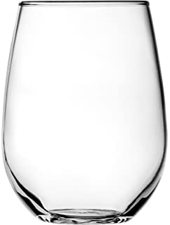 anchor hocking vienna stemless white wine glasses 15 oz set of 4