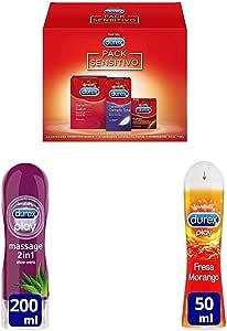 Durex Pack 39 preservativos Sensitivos (24 suave, 12 contacto ...