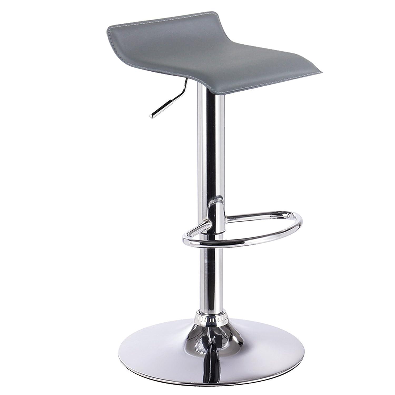 Barhocker Design Drehstuhl Hocker Barstuhl Lounge Bar Stuhl 2x Grau ...