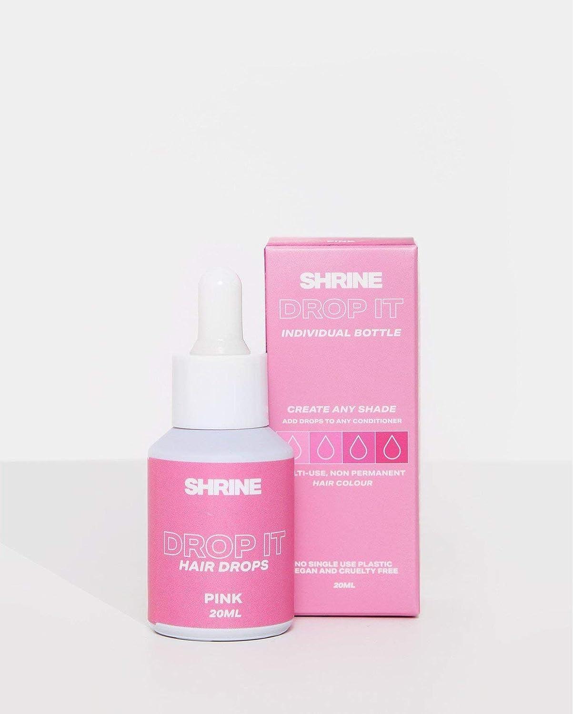 SHRINE Drop It - Tinte semipermanente para el cabello, color rosa 20 ml