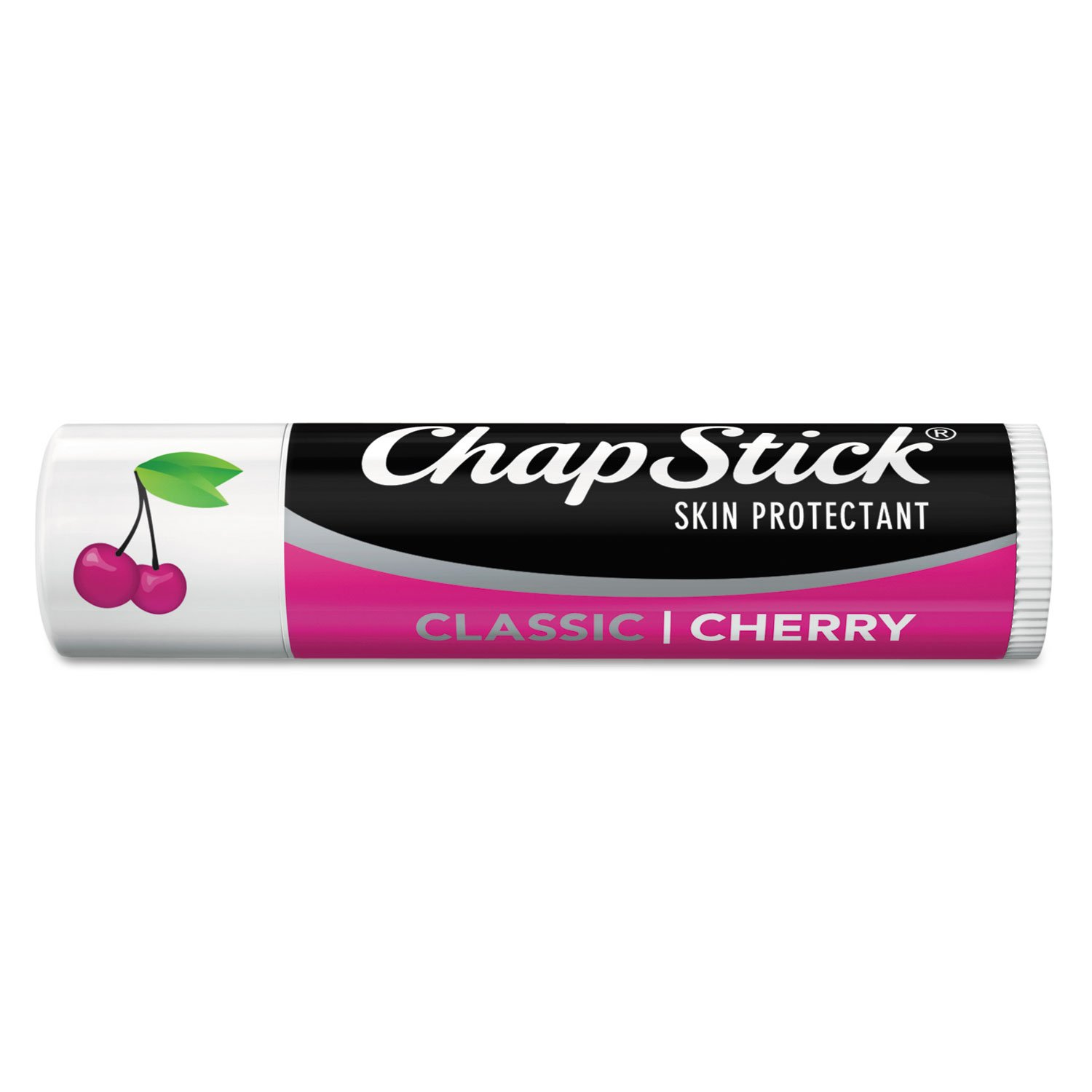 ** Classic Lip Balm, Cherry, 0.15 oz Tube, 24 per Box **