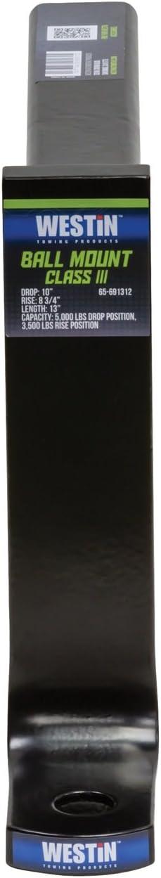 Westin 65-691312 Black Class III Ball Mount