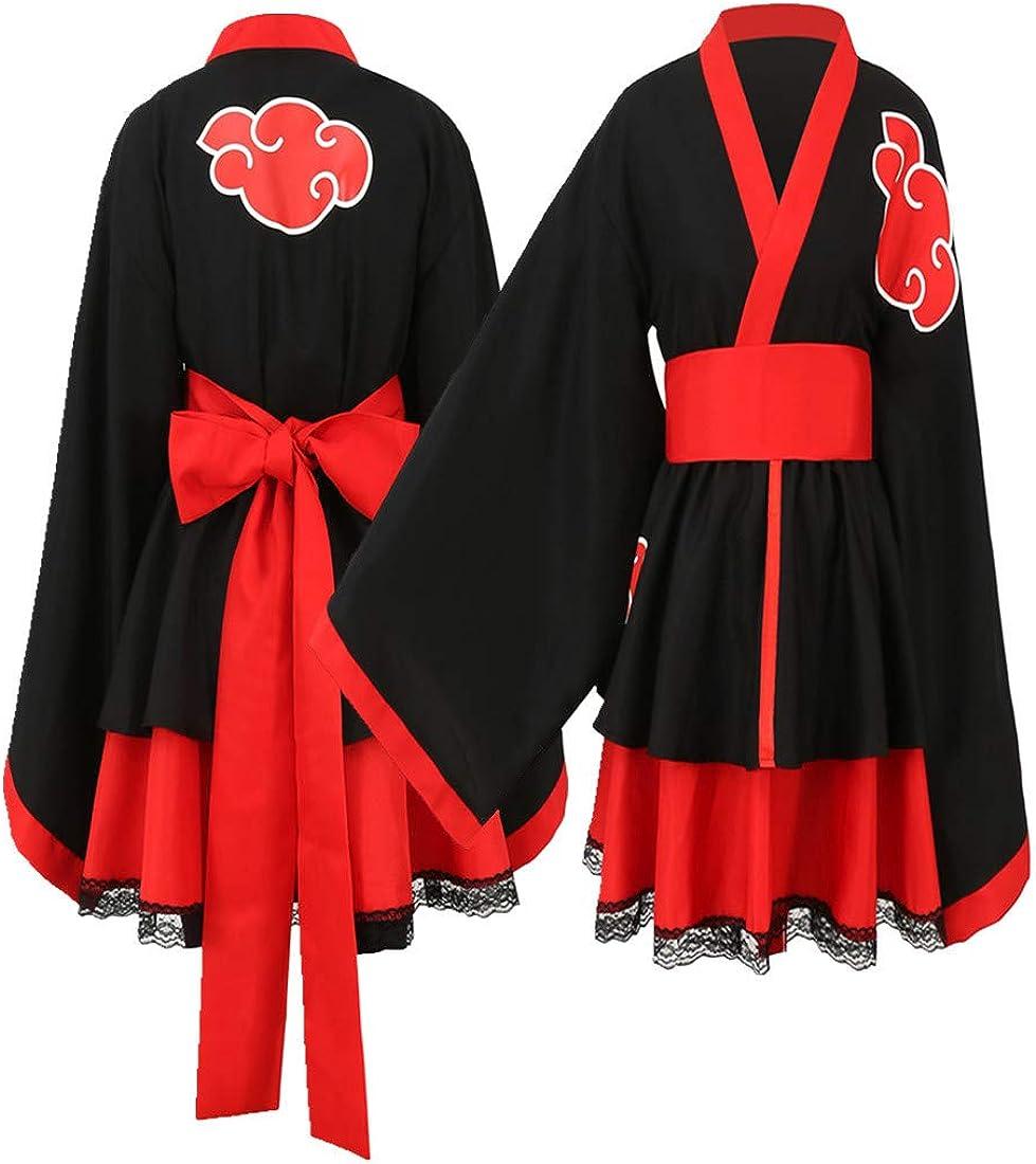 Akatsuki Uchiha In stock Itachi Lolita Dresses Kimono C Dress Raleigh Mall Women Anime