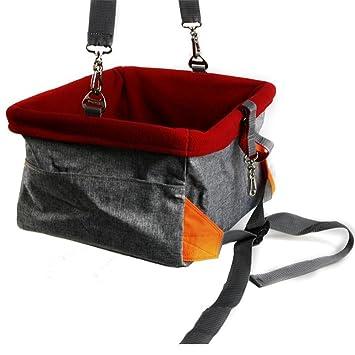 Dixinla Pet Bolsa de Coche Doble Capa Impermeable Perro y Gato Coche Bolsa de poliéster, 41 * 32 * 21 cm: Amazon.es: Deportes y aire libre