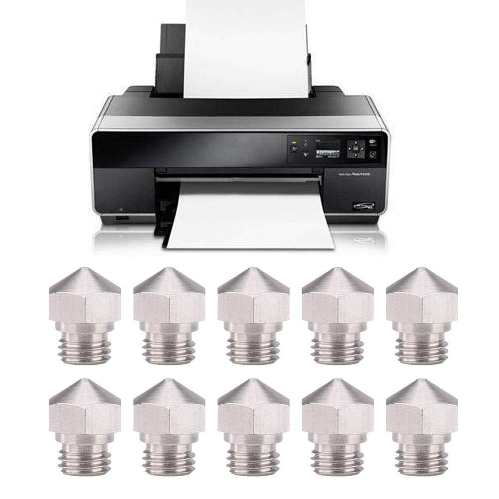 Wendry Boquilla extrusora de Impresora 3D,10 Piezas de Boquilla ...