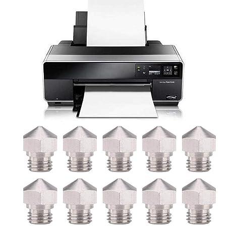 Wendry Boquilla Extrusora de Impresora 3D,10 PCS Boquilla ...