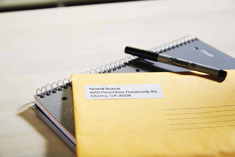 DYMO LW Etichette Originali per Indirizzi Grandi per Etichettatrici Labelwriter 36 x 89 mm 1.560 Pezzi Autoadesive 12 Rotoli da 130 Etichette Facili da Staccare