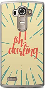 Oh Darling LG G4 Transparent Edge Case - Titles Collection