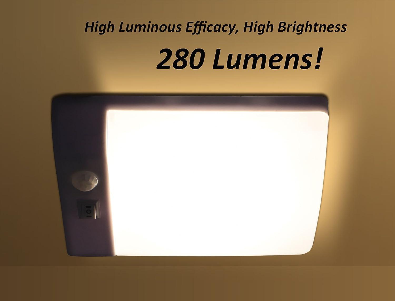 Plafoniere Per Camper 12 Volt : Facon led v luce notturna a con sensore pir di auto