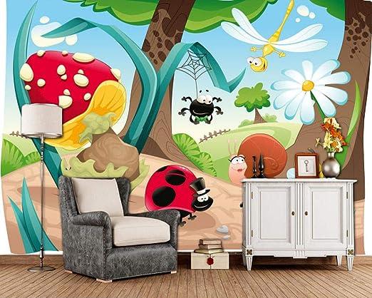 Sucsaistat Insecto De Dibujos Animados Niños Encantadores ...