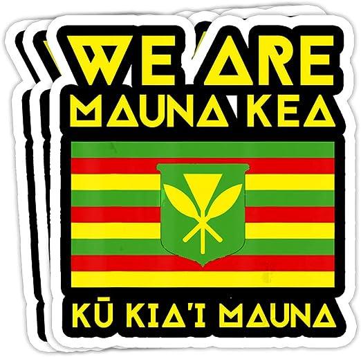 Kanaka Maoli Flag Fish Hook Hawaiian islands sticker decal Hawaii native local