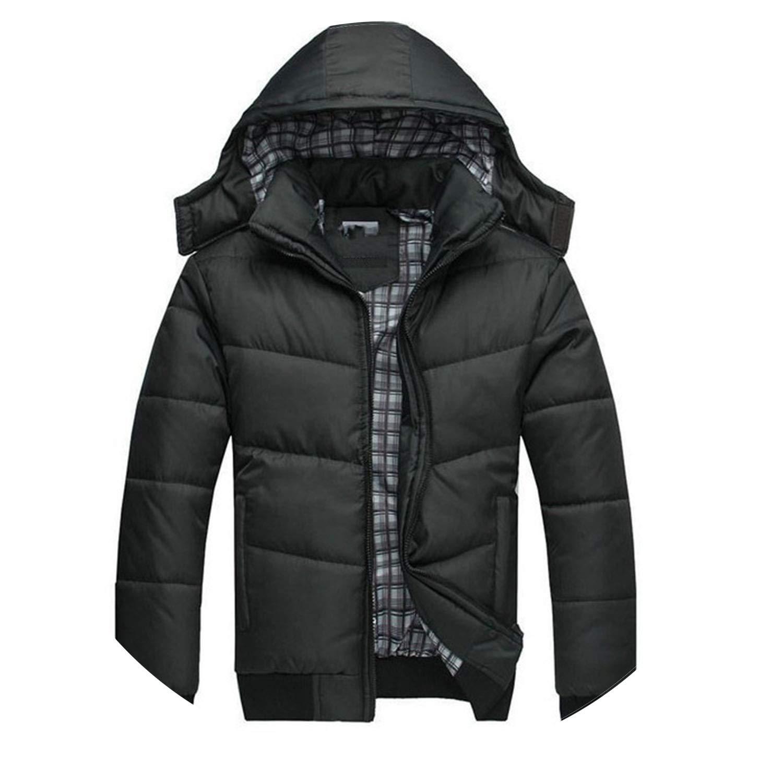 Amazon.com: Winter Down Jacket Men Hiver Marque Mens Winter Jackets and Coats Warm Manteau Blouson: Clothing