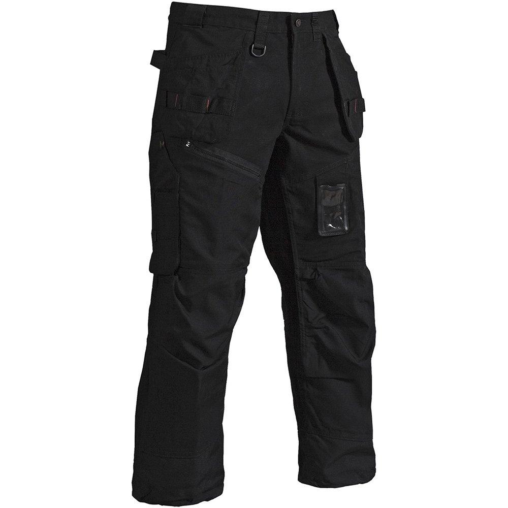 Blaklader 150013209900C150 X1500 Trousers Craftman, Size 34/34, Black