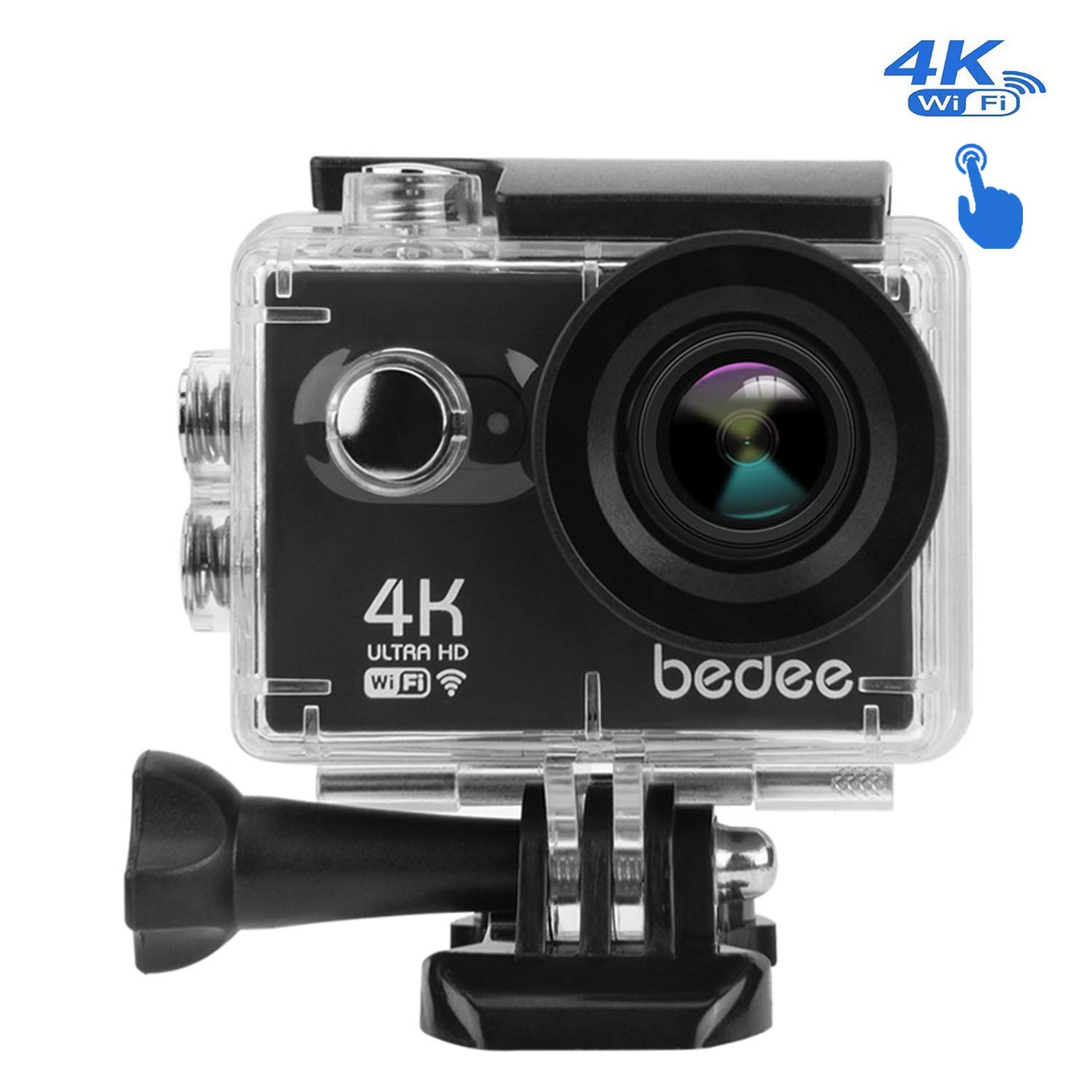 Action Camera 4K Touchscreen 2.0