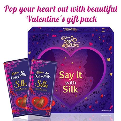 Cadbury Dairy Milk Silk Valentine Limited Edition Ar Enabled Gift