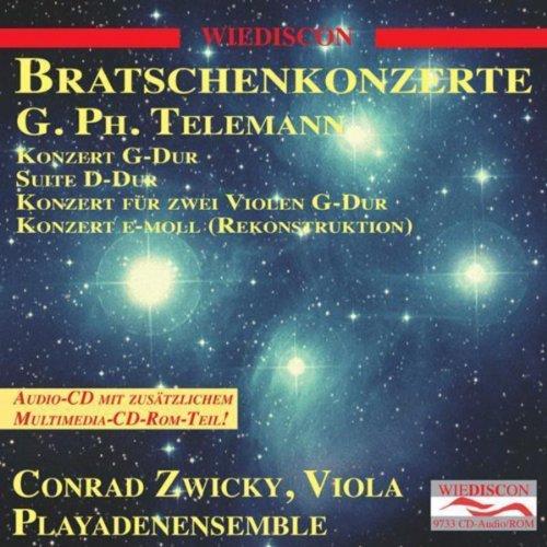 Telemann Viola Concertos