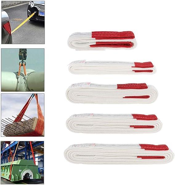 Blanc Homyl 1T C/âble De Traction Remorqueur Sangle De Remorquage De VTT,Bateau,Camions Rouge 1m 1m