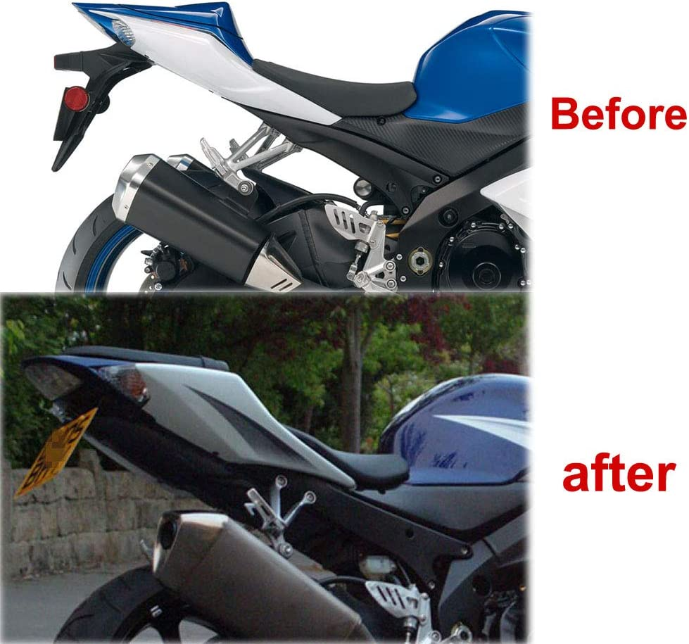 Xitomer K5 K7 Fender Eliminator//Tail Tidy With LED License Plate Light License Plate Holder For SUZUKI GSXR1000 GSX-R1000 2005 2006 2007 2008