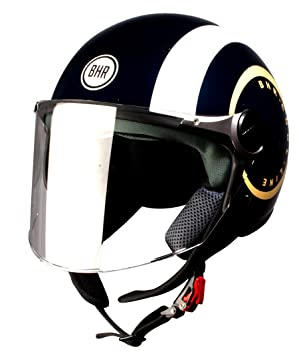 3d7c319bde78c Amazon.es  BHR 93803 Demi-Jet Cool B 710 Casco de Moto